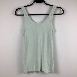 NWT Aerie Ribbed Tank Top in Mint Green